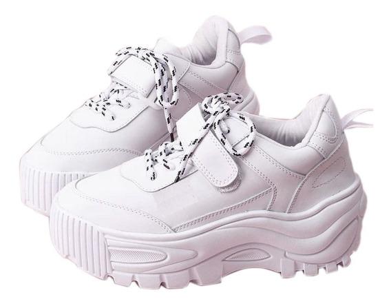 Tenis Chunky Zapatos De Plataforma Altos Envio Gratis