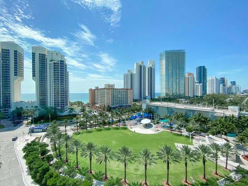 Imagen 1 de 14 de Departamento En Miami Beach - Vista Al Mar - Ocean Reserve