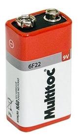 Kit 5 Bateria/pilha 9 Volts Godem Power