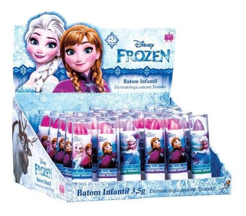 Imagem 1 de 1 de Frozen Batom Infantil C/30