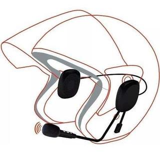 Auriculares Bluetooth 4.2 Cool Para Casco Con Micrófono