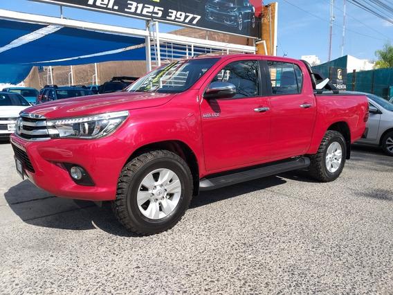 Toyota Hilux 2.8 Tdi,4x4,cabina Doble At 2018,18,000km,credi