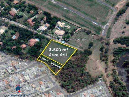 Imagem 1 de 5 de Terreno Com 5.000m² Área Nobre  - Indaiatuba - Te00209 - 34888471