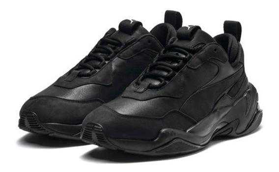 Zapatillas Puma Thunder Leathers Black
