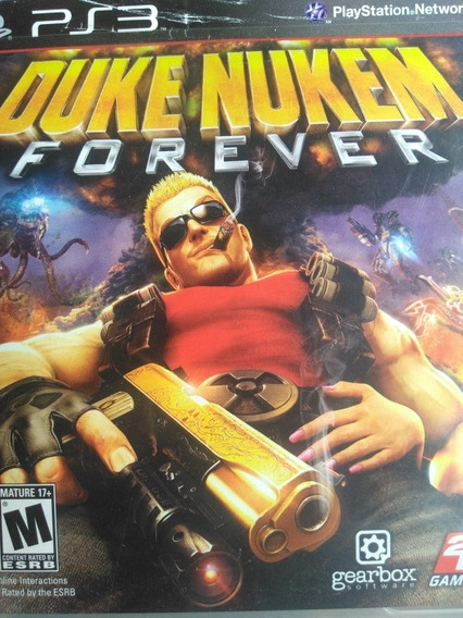 Duke Nuken Forever Ps3 , Original, Mídia Física