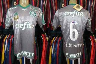Palmeiras 2015 Terceira Camisa Tamanho M Número 6 João Paulo