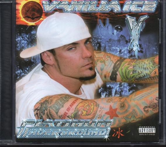 Vanilla Ice / Platinum Underground Cd 25 Tracks Importado