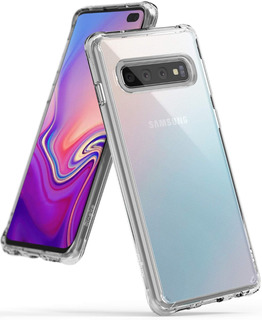 Funda Case Ringke Fusion Samsung Galaxy S10e / S10 / S10+ Plus . Shock Absorption Technology. Seleccione Correctamente