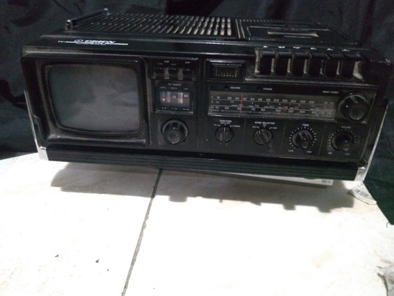 Tv Radio Casette Recorder Orion Modelo 7252 Lindo