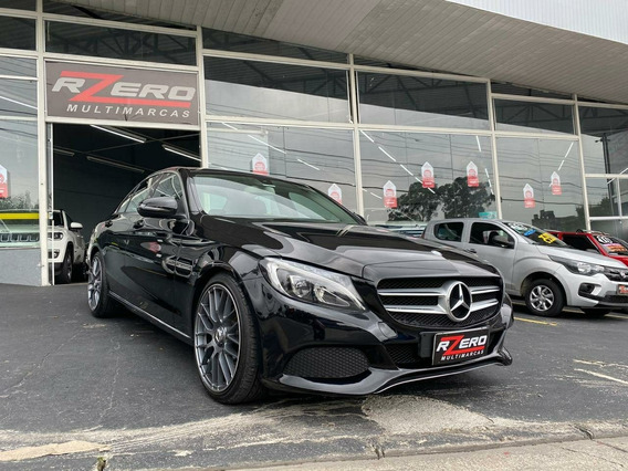 Mercedes Benz C180 Avantgarde 2017 Completa Top Rodas Flex