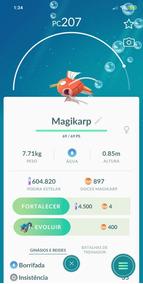 Pokemon Go - Doces - Magikarp - Swablu - E Outros - Recarga