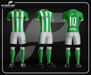 Camiseta Y Short De Futbol - Hace Tu Diseño