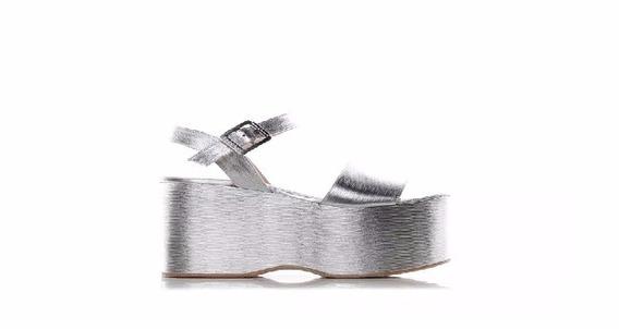 Zapatos Plataforma Alta Sarkany, Sin Uso!