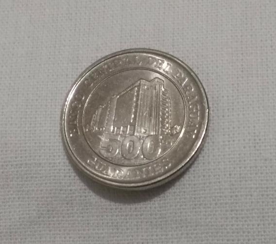 Guaranies.500 Guaranies 2008.banco Central Del Paraguay.