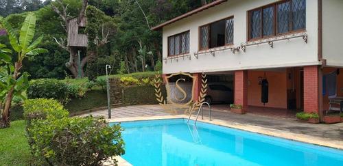 Casa Com 3 Dormitórios À Venda, 147 M² Por R$ 490.000,00 - Granja Florestal - Teresópolis/rj - Ca0449