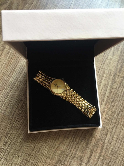 Relógio Dryzun Feminino Ouro 18k