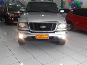 Ford Ranger 3.0 Xlt 4x4 Cd 2005 Prata Diesel