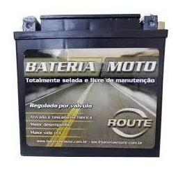 Bateria Moto Route Ytx14a-bs - Cb 400/450
