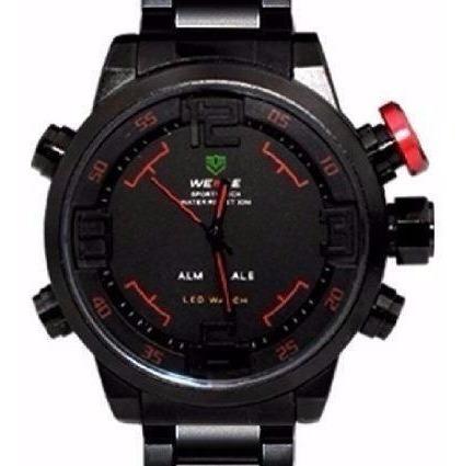 Relógio Masculino Pulso Weide Digital Wh2309-3 Só R$100,00