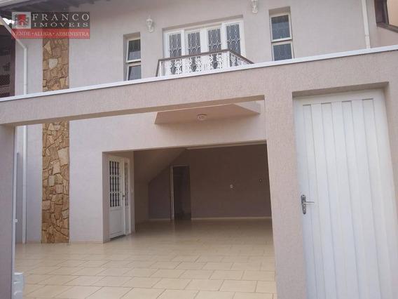 Casa Com 3 Dormitórios Para Alugar, 264 M² Por R$ 2.750,00/mês - Condomínio Residencial Mirante Do Lenheiro - Valinhos/sp - Ca0636