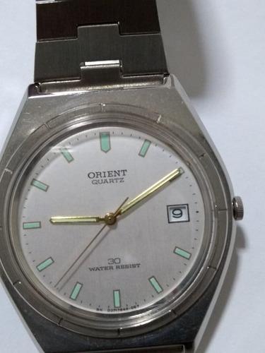 Relógio Orient Em Aço Quartz