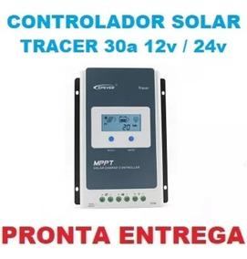 Controlador Solar Mppt Epever Tracer 30a 12v/24v Atomatico