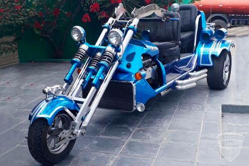 Triciclo Custom V8 5.3  318 Cv - Construido Em Metal