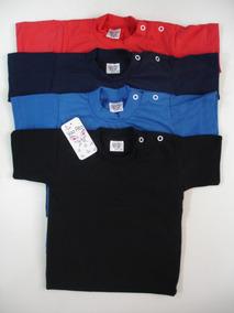 Kit Com 2 Camisetas Manga Curta 100% Algodão (p,m E G)