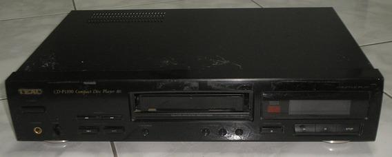 Cd Player Teac P-1100 Compact Disc Player Usado Funcionando
