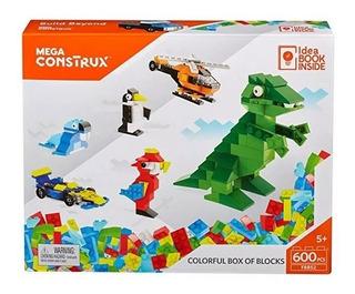 Juego Armar Mega Construx Bloques De Lujo 600 Pcs Tipo Lego