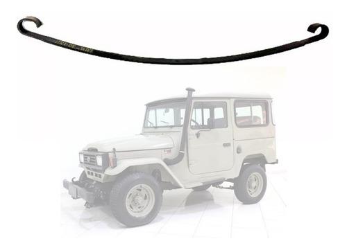 Imagem 1 de 2 de Mola 2°folha Tras. Toyota Bandeirante Pick-up 1969 Em Diante