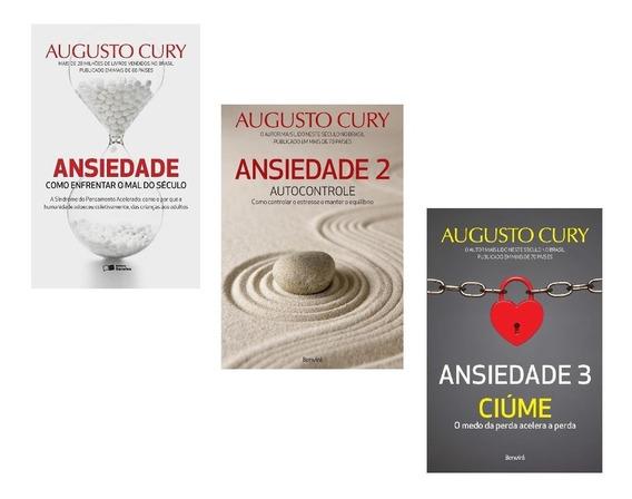Kit Livros Ansiedade - Mal Século + Autocontrole + Ciúme #