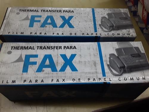 Film Para Fax Lote X 2 Cajas Antiguas Nuevas Sharp Brother