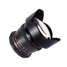 Lente Samyang Cine 14mm T3.1 Cine Grande Angular P/canon