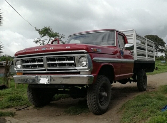 Ford 1970 Cabina Simple, 4x4