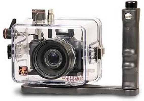 Caixa Estanque Ikelite H20 (case Submarino) Com Sony Dsc-h20