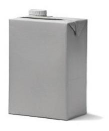 Caixa De Leite Uht Isolamento Termico Artesanato Embalagem
