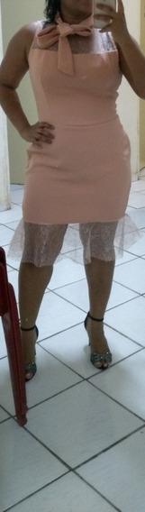 Vestido Feito Sob Medida Veste Tam. 44