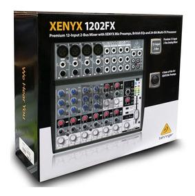 1202fx Xenyx Behringer 12 Canais Com Efeito Nova 1202