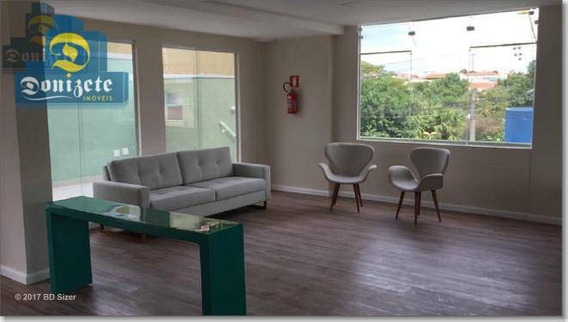 Apartamento Com 1 Dormitório À Venda, 50 M² Por R$ 219.800,00 - Vila Alto De Santo André - Santo André/sp - Ap5114