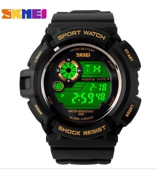 Relógio Digital Skmei Pulseira Silicone A Prova Dágua S-02