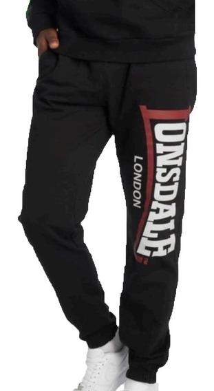 Pantalon Lonsdale Deportivo Jogging Algodon Hombre - Olivos