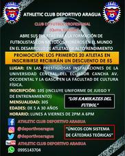 Athletic Club Deportivo Aragua Escuela De Futbol