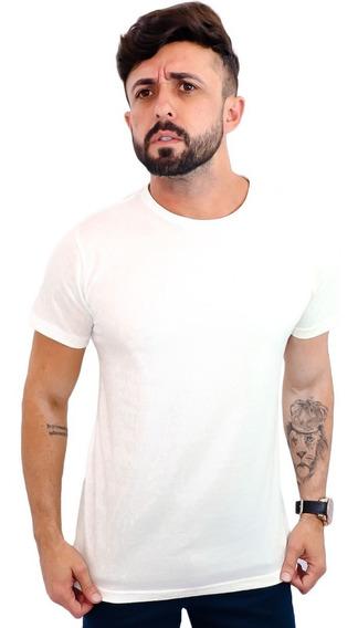 Camiseta Camisa Básica Masculina Algodão 14 Cores