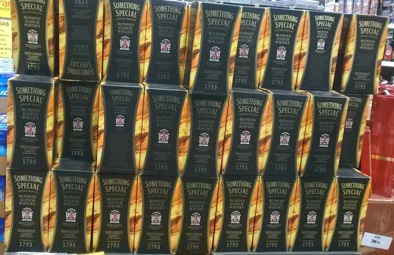 Whisky Something Especial Y Rojo 1lt Garantizado Por Cajas