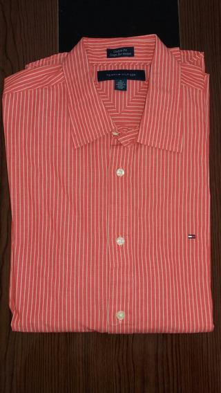 Camisa Social Tommy Hilfiger M Original