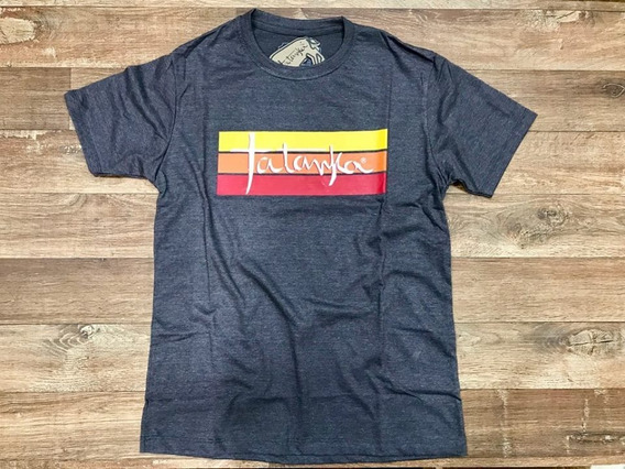 Camiseta Country Masculina Marrom Mescla Tatanka
