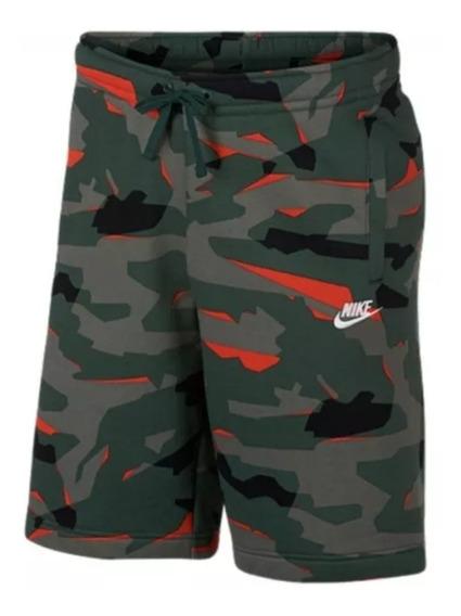 Bermuda Nike Moleton Camuflada Original