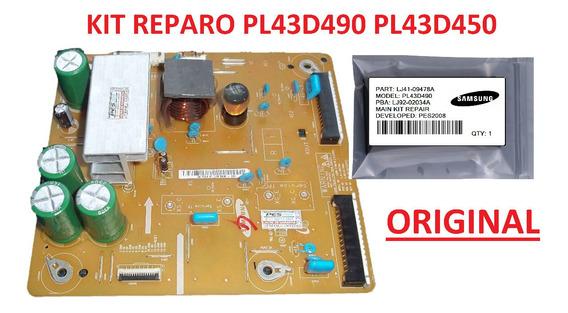 Kit Reparo Placa Z-sus X-main Lj41-09478a Lj92-01796a Novo