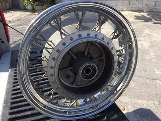 Rin Trasero 15x3.5 Honda Shadow Vt 750 Aero 04 En Delante
